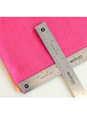 rulers and blanket