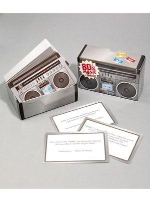 80's music game set