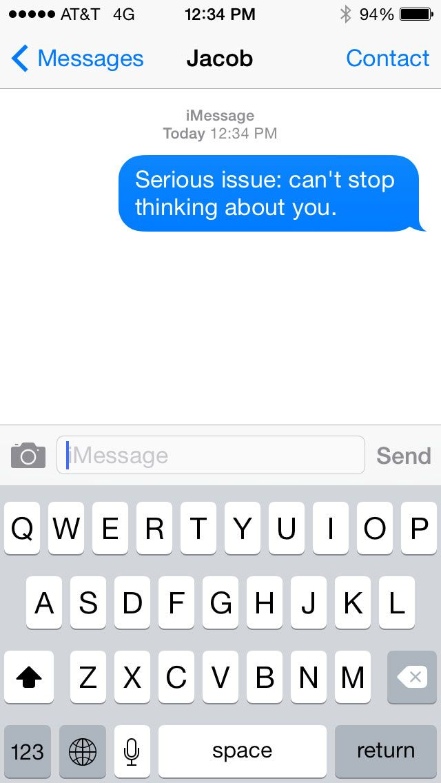 Cute text messages to your crush