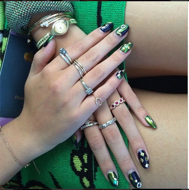 125 best nail designs of 2017 latest nail art trends ideas - Nail Polish Design Ideas