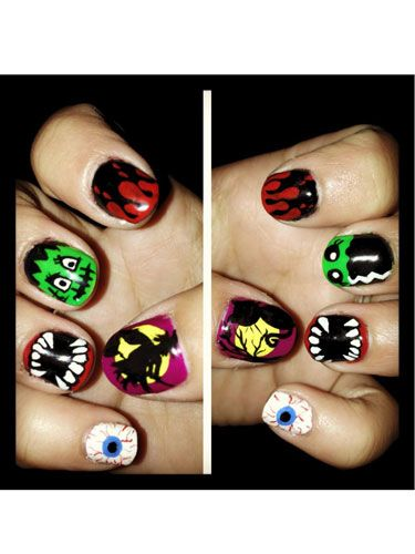 125 best nail designs of 2017 latest nail art trends ideas prinsesfo Gallery
