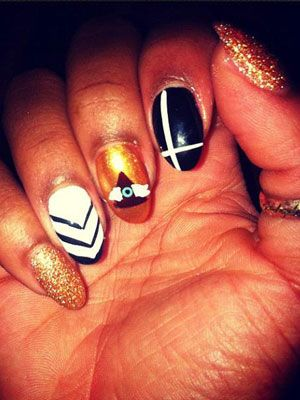 128 best nail designs of 2018 latest nail art trends ideas prinsesfo Images