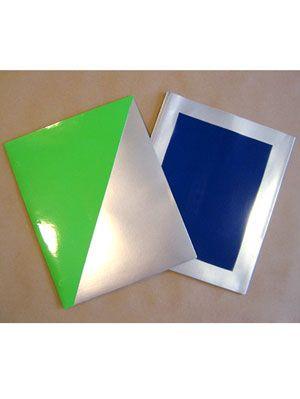 color-block folder