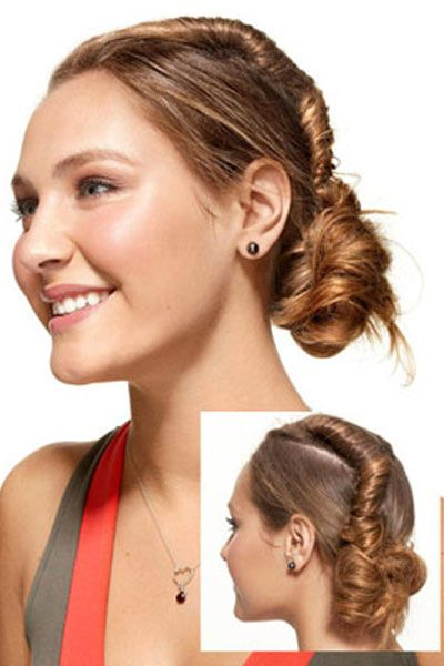5 Easy Hairstyles for Girls - Roll Out of Bed Hairstyles