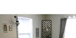 Room, Interior design, Green, Property, Wall, Textile, Photograph, Bedding, Bed, Floor,