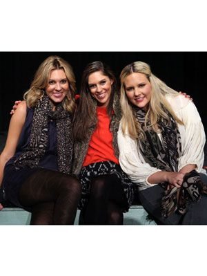 Mary Anne, Liddy, and Abby Huntsman