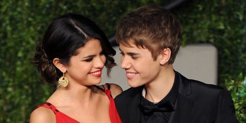 Justin Bieber And Selena Gomez February 2011
