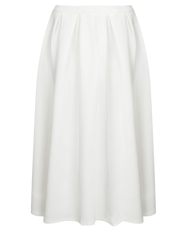 Misguided Pleated Midi Skirt