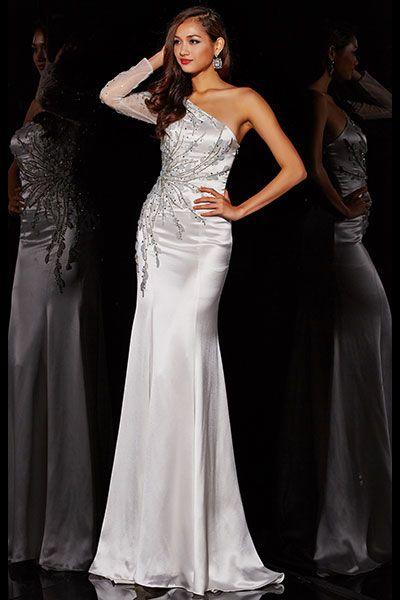 One Shoulder Dresses Prom Dress Trends 2015