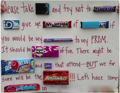 cool ways to ask someone to a dance