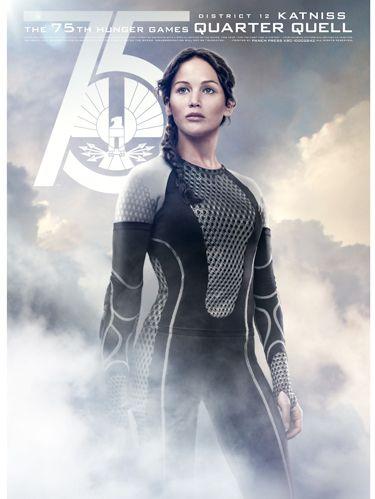 Catching Fire Poster Katniss