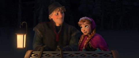 Anna and Kristoff Frozen
