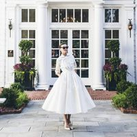 """If there ever were a collection that lent itself to our world, this is it,"" says Laura Vinroot Poole, proprietor of Charlotte, North Carolina's chicest shop Capitol. She's referring to Giambattista Valli's unbelievably stunning Fall 2014 couture collection. ""It felt so Southern to me,"" she says. ""From the wisteria-printed mousseline and gardenia embroidered lace to the layers of tulle, gorgeous colors and unabashed femininity."" This past Tuesday Poole brought the collection to her neck of the woods and presented it at the Duke Mansion. ""Doris Duke's childhood home was built in 1915 and still has almost all of the original details, like sleeping porches, rose gardens, fountains, and a portrait of Mrs. Duke as a young girl in the foyer."" The historical setting prompted her to further the glamour with a retro-style runway show. ""We were very inspired by couture shows by Christian Dior, Balenciaga, and Charles James from the 1950s,"" she says. ""We tried to create that feeling with this show, instead of a traditional runway show. The clothes really came alive in this setting and there were audible jaws dropping when many of the looks entered the room."" Equally as crafted as the couture pieces was the event itself. Every detail was carried out with elegance—from the invitations and program notes that were hand-engraved by Arzberger Engravers to the menu that included homemade tomato sandwiches with tomatoes from Poole's garden."