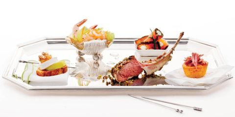 Food, Ingredient, Tableware, Orange, Recipe, Cuisine, Seafood, Garnish, Produce, Meal,