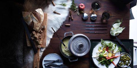 Dishware, Cuisine, Meal, Tableware, Table, Food, Serveware, Plate, Dish, Kitchen utensil,