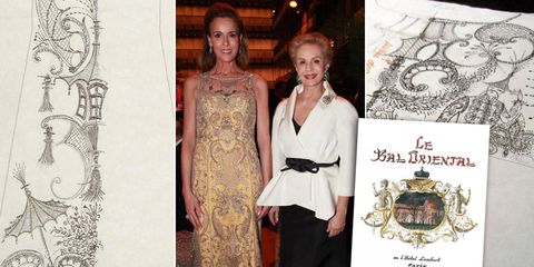 Formal wear, Style, Dress, Pattern, Vintage clothing, Day dress, One-piece garment, Design, Visual arts, Gown,