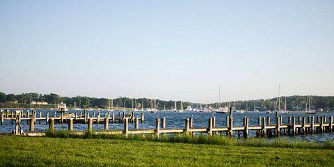 Horizon, Bank, Channel, Watercraft, Dock, Reservoir, Wetland, Bridge, Marsh, Concrete bridge,