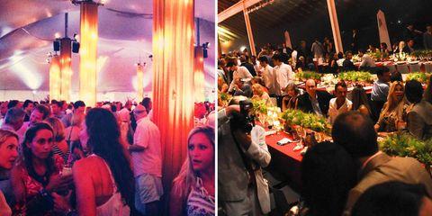 Head, Lighting, Crowd, Party, Magenta, Restaurant, Function hall, Banquet, Customer, Ceremony,