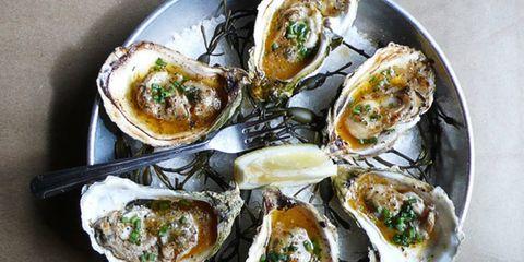 Food, Ingredient, Cuisine, Dish, Bivalve, Seafood, Finger food, Serveware, Oyster, Recipe,
