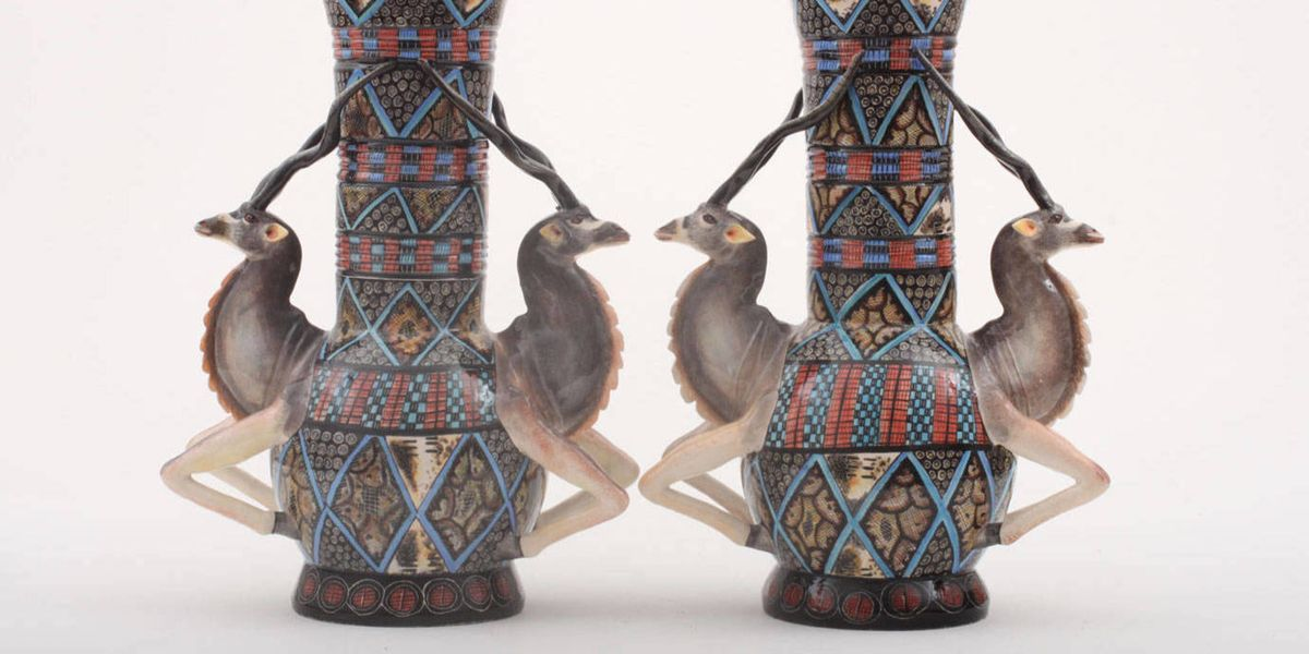 Beauty And Fashion Cunardo: Ardmore Ceramics- Creel And Gow