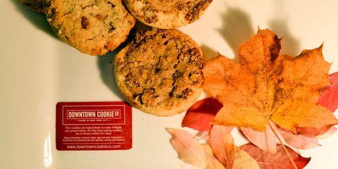 Yellow, Finger food, Leaf, Food, Orange, Baked goods, Deciduous, Snack, Cuisine, Cookies and crackers,