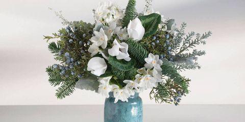 Blue, Flower, Bouquet, Petal, Artifact, Cut flowers, Interior design, Vase, Flower Arranging, Still life photography,