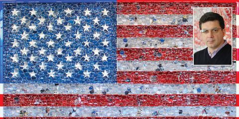 Blue, Red, Flag of the united states, Colorfulness, Flag, Carmine, Pattern, Electric blue, Majorelle blue, Maroon,
