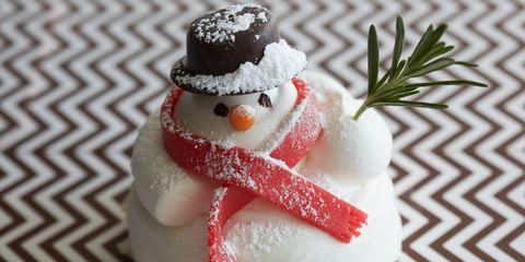 Food, Ingredient, Confectionery, Cuisine, Winter, Garnish, Christmas, Snowman, Dessert, Sweetness,