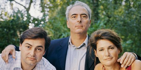 From left: Louis Renault, grandson and namesake of the founder; Laurent Dingli, Renault's biographer; and Hélène Renault-Dingli, Laurent's wife and granddaughter of the founder.