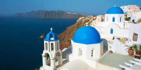 Blue, Flowerpot, Dome, Coastal and oceanic landforms, Coast, Dome, Azure, Place of worship, Promontory, Arch,