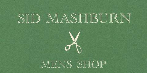 Sid Mashburn's business card.