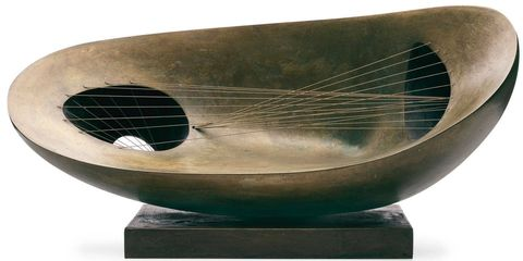 """It's not just bronzes by Giacometti that have seen a major uptick in the market as of late; the field of Modern sculpture itself (American and European objects dating roughly from thefirst half of the 20th century) is getting renewed consideration as collectors become increasingly comfortable with the idea of buying — and living with — three-dimensional objects. """"There are several reasons for this,"""" says Simon Shaw, head of Modern & Impressionist art at Sotheby's in New York. """"First, it's become very difficult to get truly great two-dimensional works from the Modern period. Second, people are more comfortable buying an edition,"""" which many of these works are. """"The way we perceive uniqueness has changed since Warhol,"""" Shaw adds. """"We've been walking gradually along that path. But in recent years it's fundamentally altered the pricing structure.""""In addition to rare and highly coveted sculptural works by Giacometti and Matisse (whose Back IV, a massive bronze bas-relief of a woman's back, sold for $48.8 million at Christie's in November 2010), Christie's expert Conor Jordan predicts a growing interest in works by Modern sculptors such as Jean Arp and Barbara Hepworth, whose abstract creations can still be had for the low– to mid–six figures.Landscape Sculpture, 1944, by Barbara Hepworth. Sold for $782,500 by Christie's in May."""