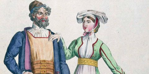 Here's a look at what men's bloomers used to look like.