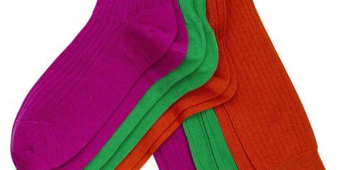 Paul Stuart socks (from $38.50 a pair), paulstuart.com.