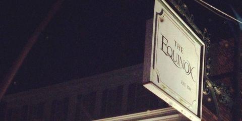 Night, Midnight, Signage, Sign, Street sign,