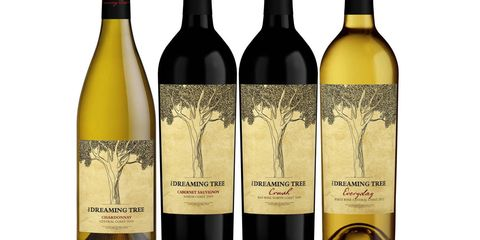 """Founded in 2011, this portfolio includes red and white wines from California including Everyday, a new white blend launching this spring that takes its name from the Dave Matthews Band song. Matthews collaborated with Sonoma County winemaker Steve Reeder to produce the wines. """"A lot of imagination goes into both the creation of music and the creation of wine,"""" Matthews says.We don't expect Matthews to make an appearance, but if any other South African-born entertainers (like Charlize Theron) show up, drink!dreamingtreewines.com"""