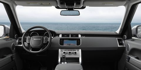 Motor vehicle, Mode of transport, Transport, White, Steering part, Glass, Steering wheel, Center console, Vehicle audio, Technology,