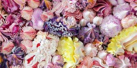 Purple, Pink, Violet, Petal, Magenta, Produce, Lavender, Peach, Natural foods, Arthropod,