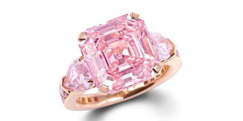 Graff pink diamond ring