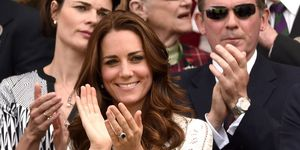 Kate Middleton cheered on Brit Andy Murray at Wimbledon in this chic white dress by Zimmermann.