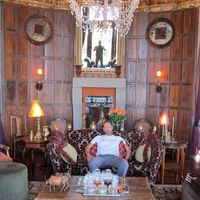 At the Ngorongoro Crater Lodge, it was a real Versailles meets Masai experience.