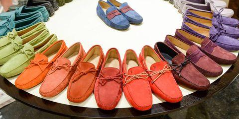 Footwear, Brown, Red, Pink, Orange, Tan, Carmine, Fashion, Collection, Maroon,