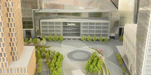 Architecture, Urban design, Commercial building, Real estate, Mixed-use, Metropolitan area, Scale model, Tower block, Plan, Design,