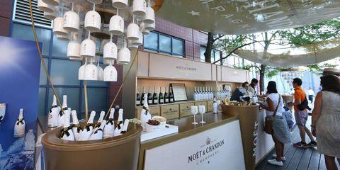 Ceiling, Collection, Light fixture, Customer, Bottle,