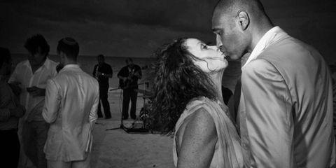 Photograph, Dress, Interaction, Monochrome, Romance, Temple, Love, Monochrome photography, Black-and-white, Flash photography,