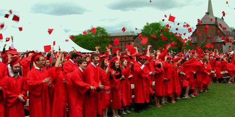 Red, Crowd, Tradition, Headgear, Carmine, Ritual, Team, Maroon, Coquelicot, Ceremony,