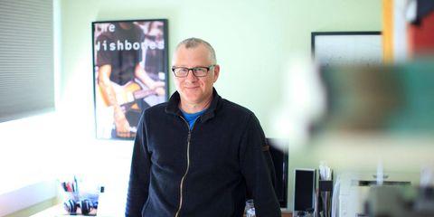 Glasses, Denim, Jeans, Engineering, Pocket, Picture frame, Job, Sweater, Desk,