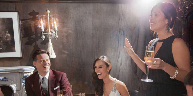 Maid Of Honor Wedding Speech Tips