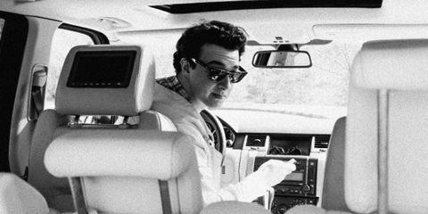 Eyewear, Vision care, Transport, Head restraint, Car seat, Automotive mirror, Sunglasses, Vehicle door, Goggles, Windshield,
