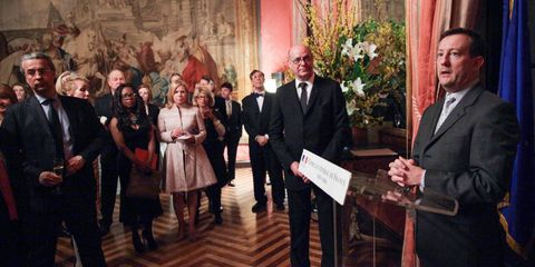 FRENCH CONSULATE'S Celebration of the BIENNALE DES ANTIQUAIRES,
